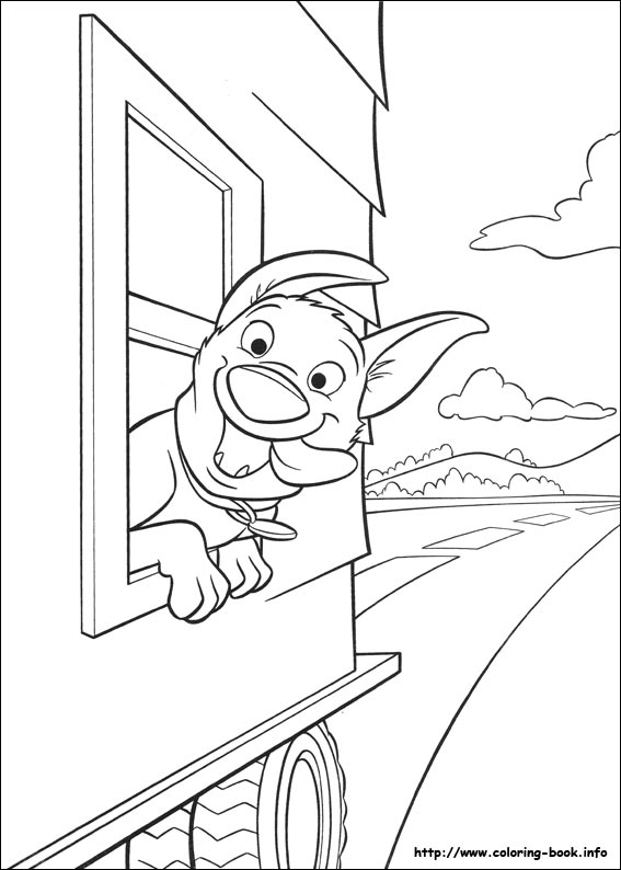 Sarah\'s Super Colouring Pages: Bolt Colouring Pages