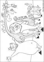 דפי צביעה הדפסה און ליין-מדגסקר-